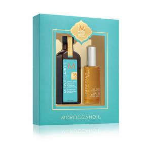 Moroccanoil Zestaw: Moroccanoil Treatment 100 ml &  Dry Body Oil 50 ml